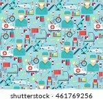 medical flat vector | Shutterstock .eps vector #461769256