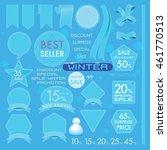 vector element design set of... | Shutterstock .eps vector #461770513