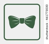 bow tie icon. | Shutterstock .eps vector #461773030