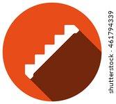 down staircase icon  vector ...
