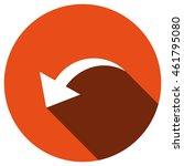 arrow icon  vector  icon flat | Shutterstock .eps vector #461795080