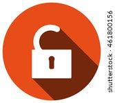 lock icon  vector  icon flat