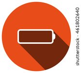 battery icon  vector  icon flat