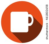 cup icon  vector  icon flat