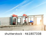 the huge three gorges dam on... | Shutterstock . vector #461807338