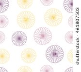seamless floral colorful vector ... | Shutterstock .eps vector #461807503