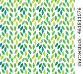 vector pattern. leaves ... | Shutterstock .eps vector #461811076