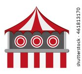 Flat Design Bullseye Tent In...