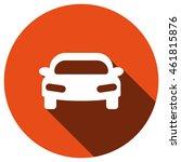 car icon  vector  icon flat