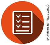 checklist icon  vector  icon...
