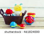 baby toys  toddler toys or... | Shutterstock . vector #461824000