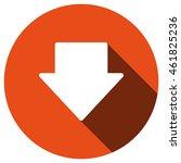 arrow icon  vector  icon flat