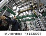 turkey   june 22 2015  tupras... | Shutterstock . vector #461830039