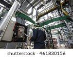 turkey   june 22 2015  tupras... | Shutterstock . vector #461830156
