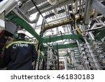 turkey   june 22 2015  tupras... | Shutterstock . vector #461830183
