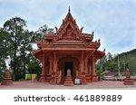 Kos Samui  Thailand. Temple. 2...