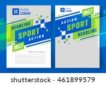 flyer brochure design  business ... | Shutterstock .eps vector #461899579