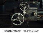 close up vintage old vault of... | Shutterstock . vector #461912269
