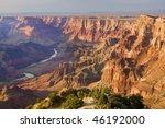 beautiful landscape of grand... | Shutterstock . vector #46192000