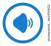 sound icon  flat design style