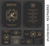 restaurant menu template....   Shutterstock .eps vector #461966863