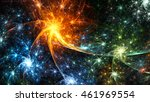 star clusters galaxies.... | Shutterstock . vector #461969554