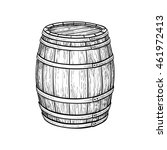 Wine Or Beer Barrel Isolated On ...