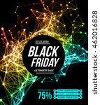 black friday sale | Shutterstock .eps vector #462016828