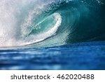 shorebreak ocean wave in... | Shutterstock . vector #462020488
