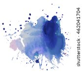 expressive abstract watercolor... | Shutterstock .eps vector #462041704