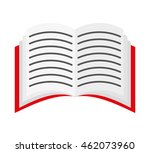 book text open icon vector... | Shutterstock .eps vector #462073960