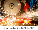 close up of electric grinder... | Shutterstock . vector #462074380