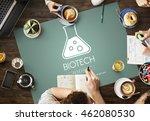 scientific biochemistry... | Shutterstock . vector #462080530
