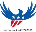 illustration of an american... | Shutterstock . vector #462088390