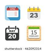 calendar icon vector isolated ...