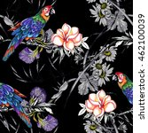 beautiful seamless pattern with ... | Shutterstock . vector #462100039