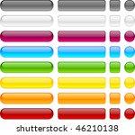blank web buttons. vector... | Shutterstock .eps vector #46210138
