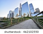 modern building in city | Shutterstock . vector #462102550