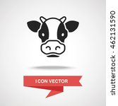 cow icon | Shutterstock .eps vector #462131590