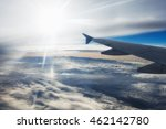 Small photo of Airplane altitude flight