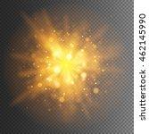 abstract golden explosion bokeh ...   Shutterstock .eps vector #462145990
