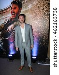 "Small photo of SAO PAULO,AUGUST 01, 2016: Actor Jack Huston attends the Sao Paulo city premiere of ""Ben-Hur"" at Cinepolis Theater."