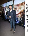 "Small photo of SAO PAULO,AUGUST 01, 2016: Actor Rodrigo Santoro attends the Sao Paulo city premiere of ""Ben-Hur"" at Cinepolis Theater"