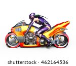 3d cg rendering of a super woman | Shutterstock . vector #462164536