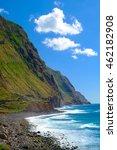 mountainous landscape of...   Shutterstock . vector #462182908