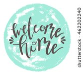 "vector lettering for ""welcome... 