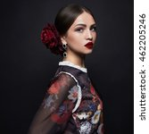 Fashion Portrait Of Beautiful...
