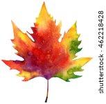 bright autumn leaves ... | Shutterstock . vector #462218428