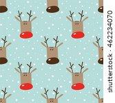 seamless winter holidays... | Shutterstock .eps vector #462234070