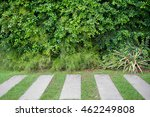 green field background with the ... | Shutterstock . vector #462249808